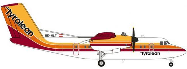 herpa 559553 Tyrolean Airways DHC-7 | WINGS 1:200