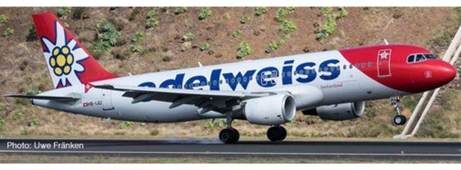 herpa 559584 Edelweiss Air Airbus A320 | WINGS 1:200
