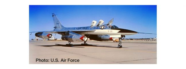 herpa 559850 Convair XB-58 Hustler US Air Force Flugzeugmodell 1:200
