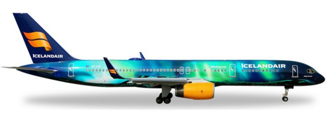 herpa 562539 B757-200 Icelandair Aurora | WINGS 1:400