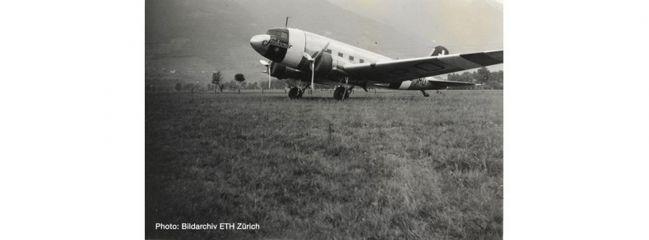 herpa 570558 Douglas DC-3 Swissair Flugzeugmodell 1:200