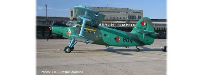 herpa 570602 Antonov AN-2 LTS Luft Taxi Service Anushka Flugzeugmodell 1:200