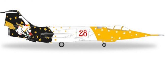 herpa 580205 F-104G Starfighter Italian AF Strega | WINGS 1:72