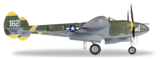 herpa 580229 Lockheed P-38J Lightning US Army Air Forces 23 Skidoo Militärflugzeug 1:72
