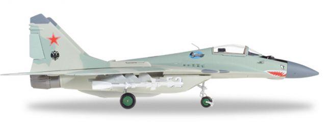 herpa 580236 Mikoyan MiG-29 Russian Air Force 120th GvlAP Domna Air Base Militärflugzeug 1:72