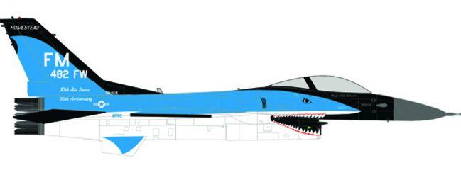 herpa 580250 Lockheed F-16C US Air Force 93rd FS Florida Makos Flugzeugmodell 1:72