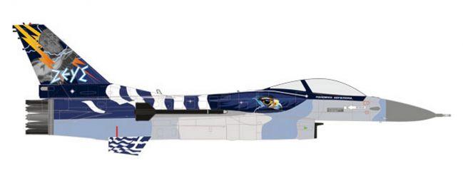 herpa 580380 Lockheed Martin F-16C Hellenic Air Force Zeus Demo Team Flugzeugmodell 1:72