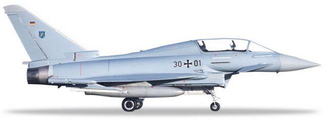herpa 580397 Typhoon Eurofighter twinseat Luftwaffe TaktLwG 73 Steinhoff Flugzeugmodell 1:72