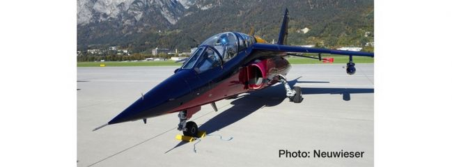 herpa 580496 Dornier AlphaJet A Flying Bulls Dassault-Breguet Flugzeugmodell 1:72