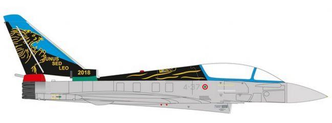 herpa 580502 Eurofighter Typhoon Italian Air Force 20Gruppo100th Anniversary Flugzeugmodell 1:72