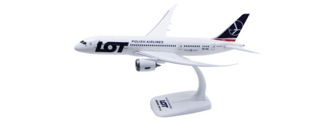 herpa 609494 B787-8 LOT Flugzeugmodell 1:200