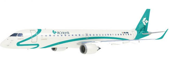 herpa 609821 ERJ-195 Air Dolomiti | Snap-Fit WINGS 1:100