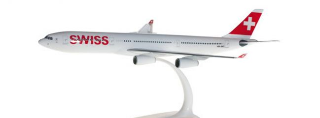 herpa 610117-001 Airbus A340-300 Swiss International Air Lines Flugzeugmodell 1:200