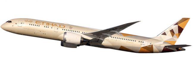 herpa 610636 B787-9 Etihad Airways Snap-Fit | WINGS 1:200