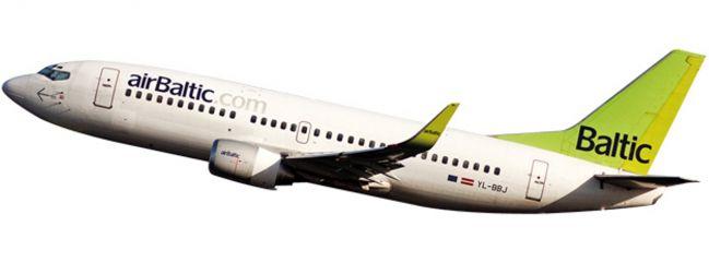herpa 611107 B737-300 Air Baltic Snap-Fit | WINGS 1:180