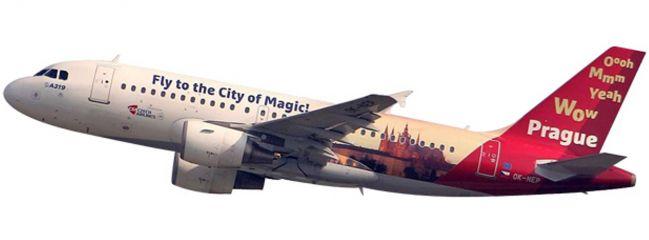 herpa 611138 A319 CSA Prague City of Magic SnapFit | WINGS 1:200