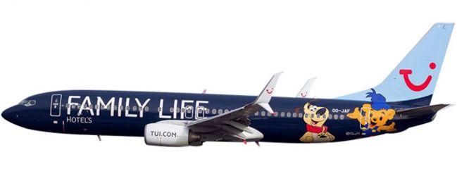 ausverkauft | herpa 611145 B737-800 Jetairfly Family Life Hotels SnapFit | WINGS 1:200
