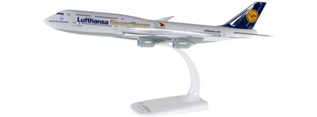herpa 611435 B747-8 Lufthansa Paralympics | Snap-Fit WINGS 1:250