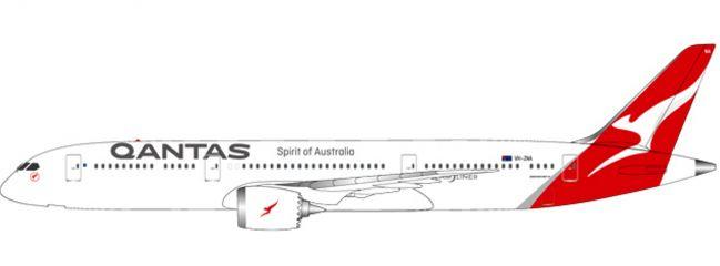 herpa 611770 Boeing 787-9 Dreamliner Qantas | SnapFit Steckbausatz 1:200