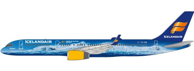 herpa 611848 Icelandair Boeing 757-200 | Snap-Fit WINGS 1:200