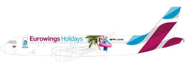 herpa 611893 Eurowings Europe A320 | Snap-Fit WINGS 1:200