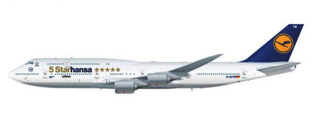 herpa 611978 Boeing 747-8 Intercontinental Lufthansa 5Starhansa Flugzeugmodell 1:250