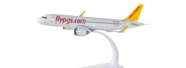 ausverkauft | herpa 612029 Airbus A320neo Pegasus Airlines Steckbausatz 1:200