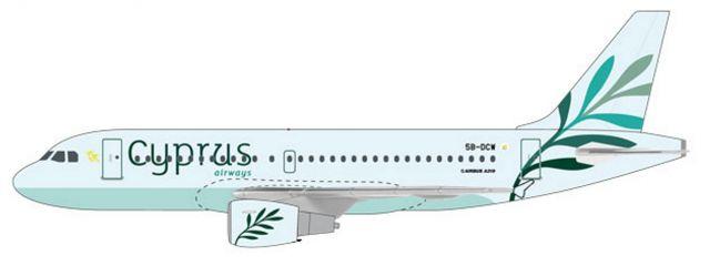 herpa 612036 Airbus A319 Cyprus Airways Steckbausatz 1:200