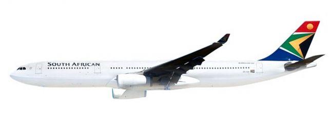 herpa 612074 Airbus A330-300 South African Airways Steckbausatz 1:200