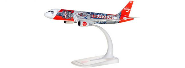 herpa 612128 Thai Air Asia A320 Amazing Thailand | Snap-Fit WINGS 1:200
