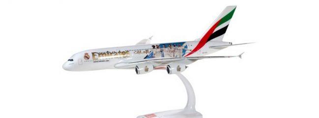 herpa 612142 Airbus A380 Emirates Real Madrid 2018 Steckbausatz 1:250