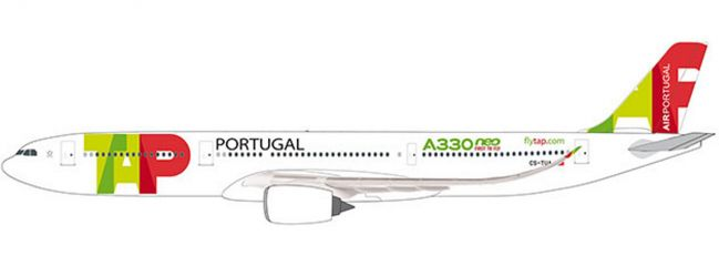 herpa 612227 TAP Air Portugal Airbus A330-900 neo | Snap-Fit WINGS 1:200