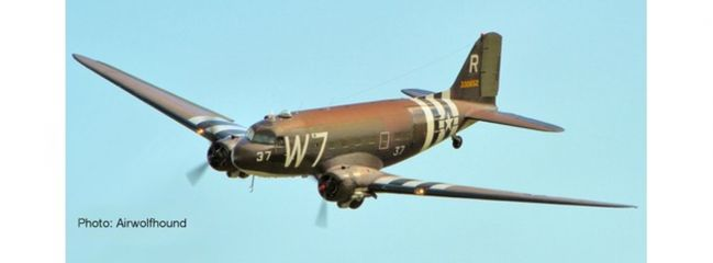 herpa 612296 USAAF C-47A D-Day 75th Anniv. SnapFit | WINGS 1:100