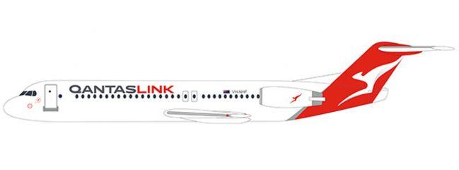 herpa 612340 Fokker 100 QantasLink SnapFit | WINGS 1:100