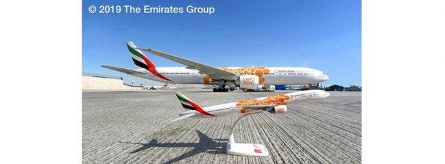 herpa 612357 Boeing 777-300ER Emirates Expo 2020 Steckbausatz 1:200