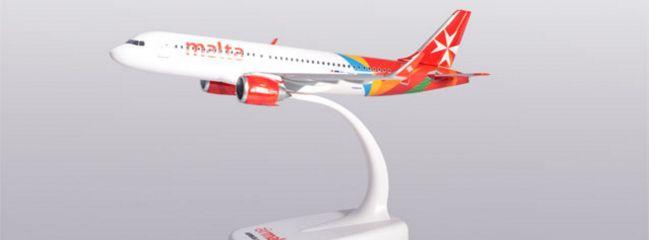 herpa 612418 Airbus A320neo Air Malta Steckbausatz 1:200