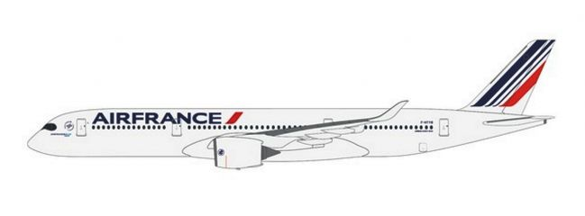 herpa 612470 Airbus A350-900 Air France Steckbausatz  1:200