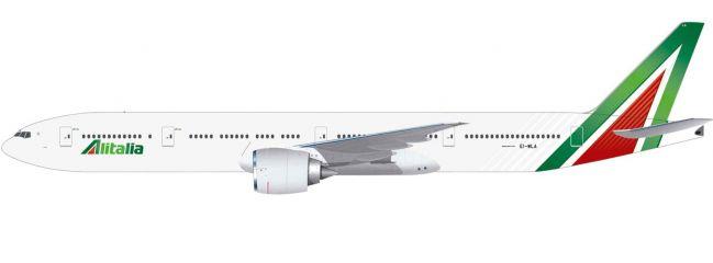 herpa 612555 Alitalia Boeing 777-300ER - EI-WLA Roma | Flugzeugmodell 1:200