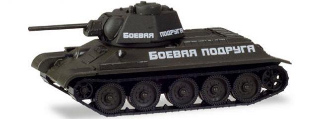 herpa 746199 Panzer T34 Fighting Girlfriend | Militär 1:87