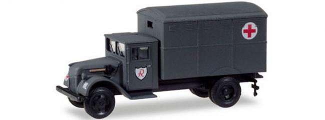 herpa 746212 Ford 987 Sanitätskoffer Wehrmacht JG3   Militär 1:87