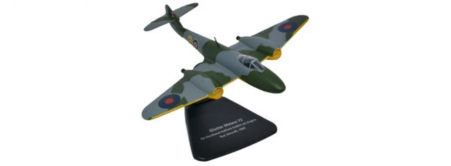 herpa OXFORD 81AC068 De Havilland Gloster Meteor F2 Jet Engine Test Aircraft Flugzeugmodell 1:72