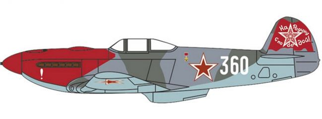 OXFORD 81AC088 Yak-3 Anton Dmitrievich Yakimenko 150th Guards Regiment Flugzeugmodell 1:72