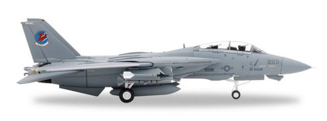 herpa 82TSMWTP008 Northrop Grumman F-14A VF-1 Top Gun Cougar & Merlin Flugzeugmodell 1:72