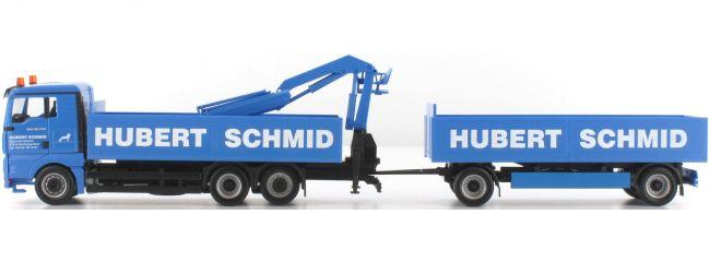 ausverkauft | herpa 907989 MAN TGA XL Baustoff-Hgz. Hubert Schmid LKW-Modell 1:87