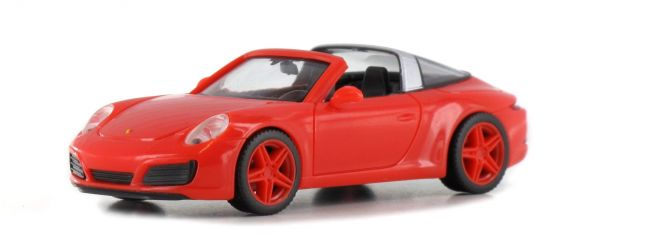 herpa 928236 Porsche 911 Targa 4 IAA 2017 Automodell 1:87