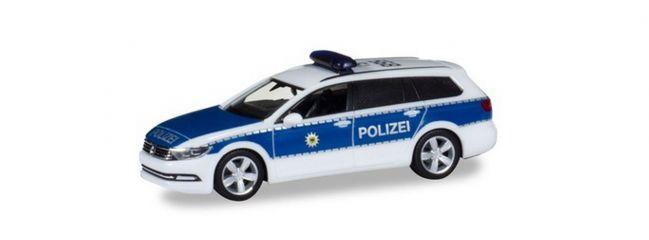 herpa 929363 VW Passat Variant B8 Bundespolizei Blaulichtmodell 1:87