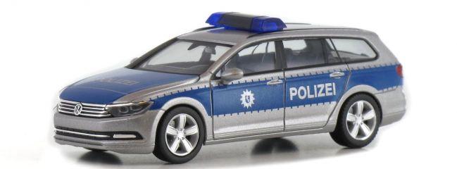 herpa 929943 VW Passat Variant B8 Polizei Bremen Blaulichtmodell 1:87