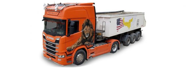 herpa 940641 Scania CR 20 HD Kipp-Sattelzug Angelo Raetzo | Modell-LKW 1:87