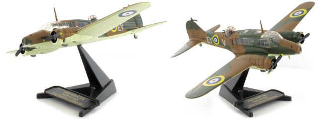 herpa Oxford 8172AA004 Avro Anson Mk1 233 Sqn Royal Air Force Flugzeugmodell 1:72