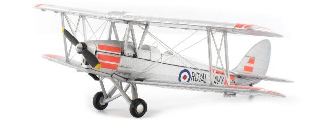 herpa Oxford 8172TM008 De Havilland DH Tiger Moth XL 714 HMS Heron Flight Royal Navy Flugzeugmodell 1:72